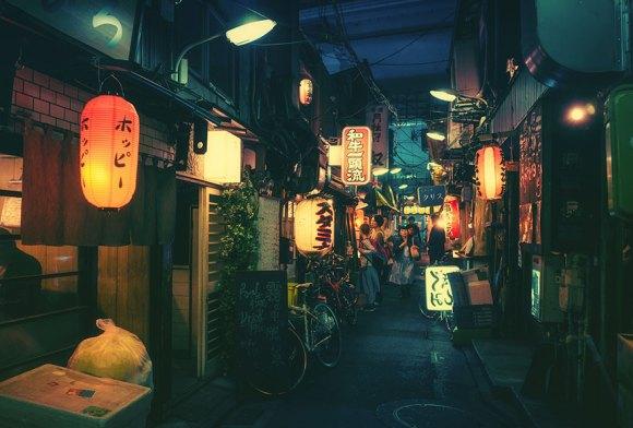 Fotografias noturnas de Tóquio 3