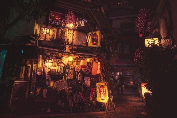 Fotografias noturnas de Tóquio 4