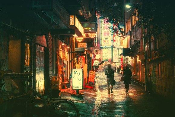 Fotografias noturnas de Tóquio 6