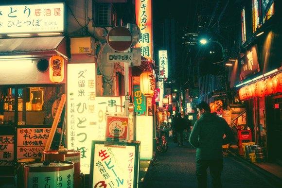 Fotografias noturnas de Tóquio 8