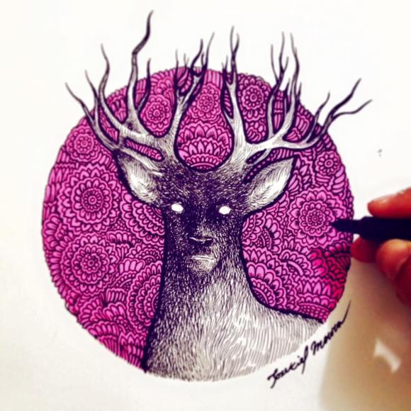 Ilustrações de artista brasileiro 14