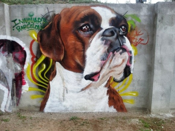 grafite cachorro 4