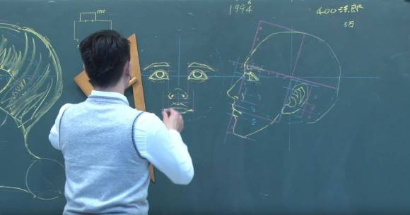 Desenhos de anatomia 5
