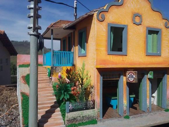 Miniaturas de cenários mineiros - maquetes de Minas Gerais 23