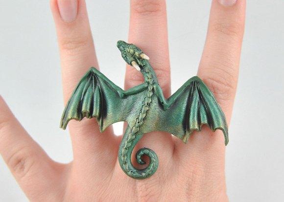 Colar e pulseira de dragão 12