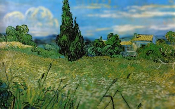 Van Gogh em tiltshift 1