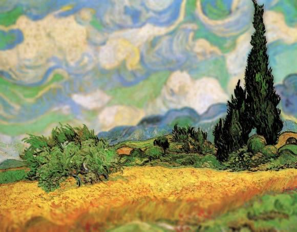 Van Gogh em tiltshift 10