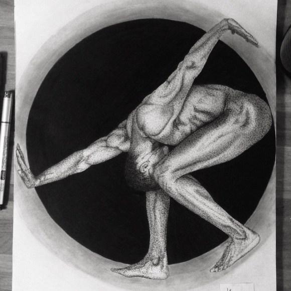 Corpo inclinado