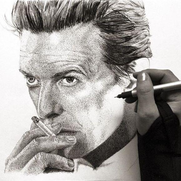 David Bowie por fazer