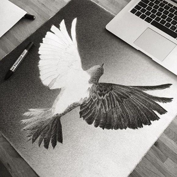 Pássaro por fazer