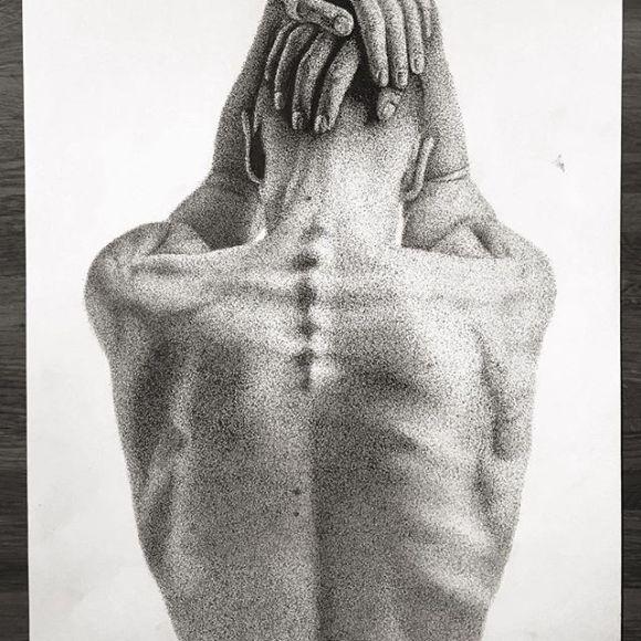 Corpo de costas