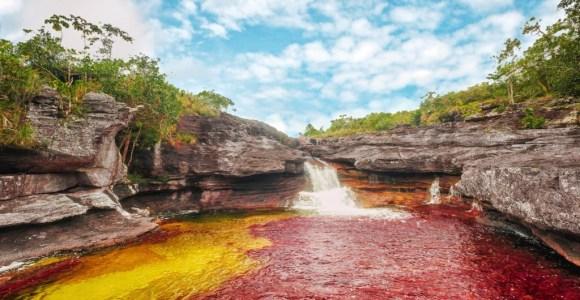 Caño Cristales: o rio de arco-íris intocado na Colômbia