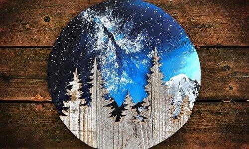 Você vai querer ter esses quadros que misturam elementos da natureza na sua parede