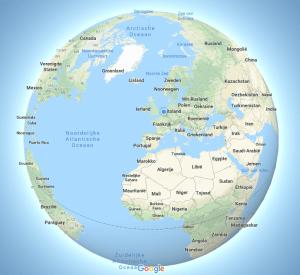 The Social Recap; week 33 - Maps Globe