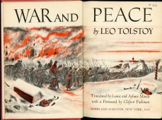 War and Peace Inner Sanctum Edition 1942