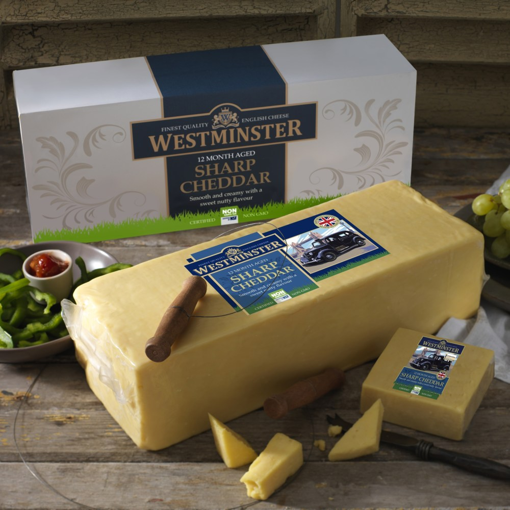 Westminster Sharp Non-GMO Cheddar Block
