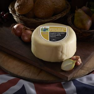 Somerdale Poacher's Cheddar Waxed Deli Wheel