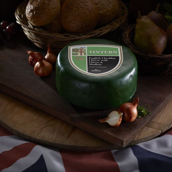 Somerdale Tintern Cheddar with Chives and Shallots