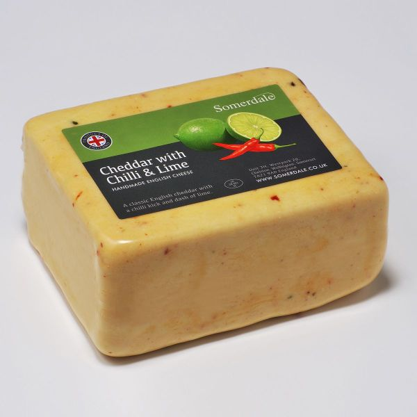 Somerdale Cheddar with Chilli and Lime Deli Block