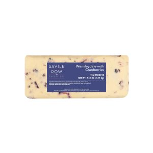 Savile Row Wensleydale with Cranberries