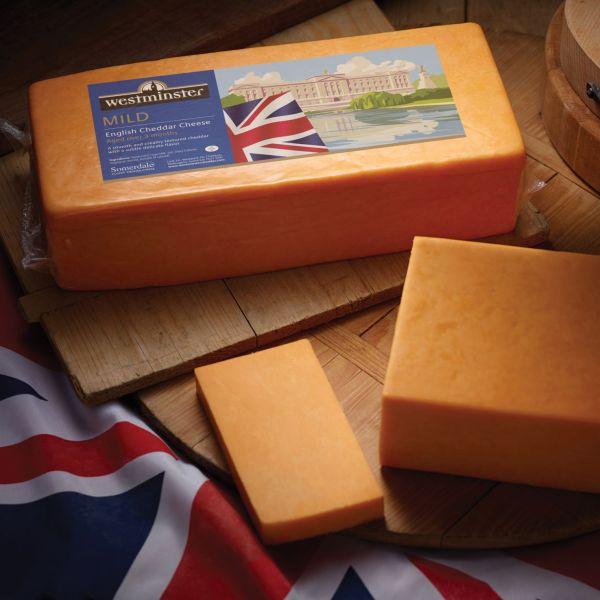 Westminster Mild Coloured Cheddar Block