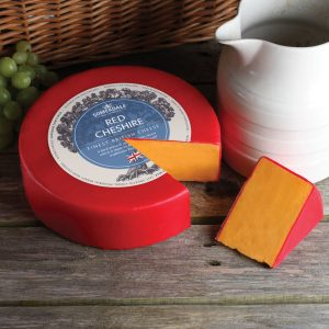 Somerdale Red Cheshire - 3kg Waxed Deli Wheel
