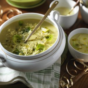 Sprout & Cheddar Soup Recipe