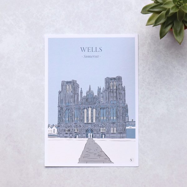 Illustration of wells cathedral