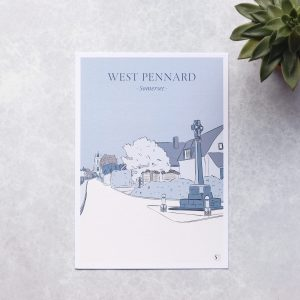Illustration of west pennard