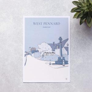 Illustration of west pennard