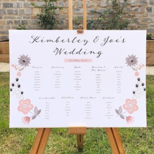 Holbrook table plan