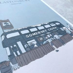 Glastonbury Print