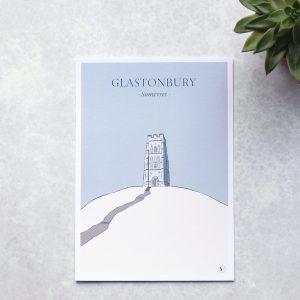 Illustration of Glastonbury Tor