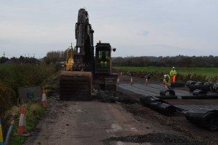 Muchelney road raising 1 Flood Action Plan