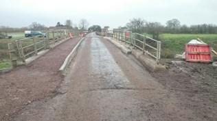 Muchelney nearing completion road flood action plan highways