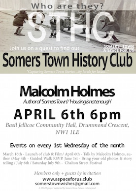 History club poster.