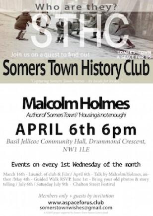 History club poster.
