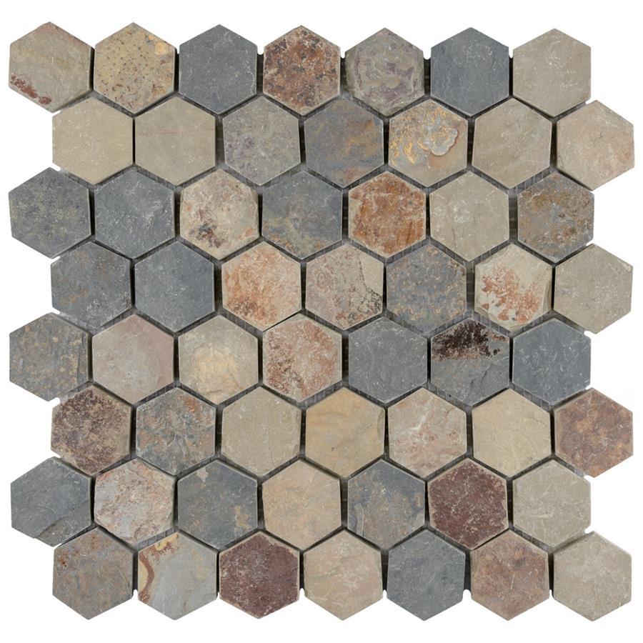 crag hexagon sunset 11 1 8 x11 1 8