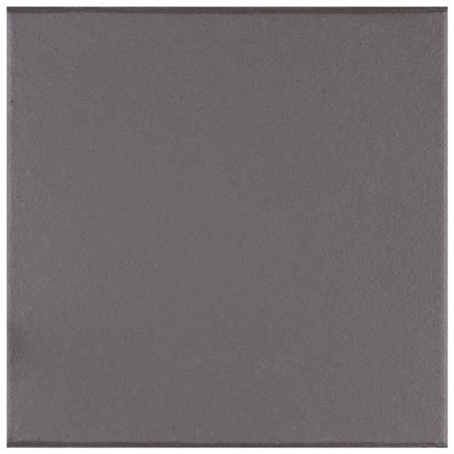 klinker black 6 x6 ceramic f w quarry tile