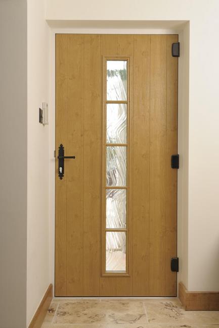 Wood Effect Composite Front Doors