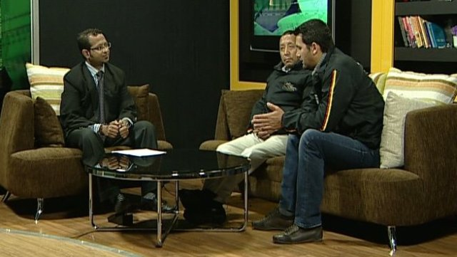 """Chatting with Two Everest Summiters - Apa Sherpa and Steven Dawa Sherpa - on my show """"Rise & Shine"""""""