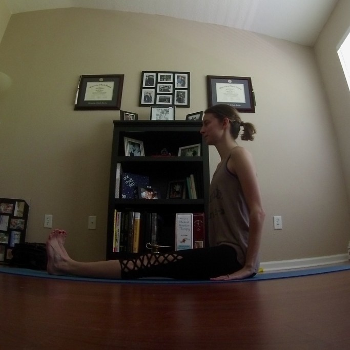 Yoga Challenge Day 17: Staff Pose - Some Shananagins