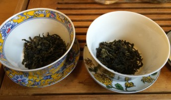 First and Second Baozhong, Dry