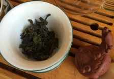 Third Baozhong Leaf in Gaiwan