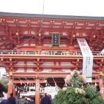 生田神社へ初詣に行ってきた!混雑する時間はいつ?屋台もあっておすすめ!