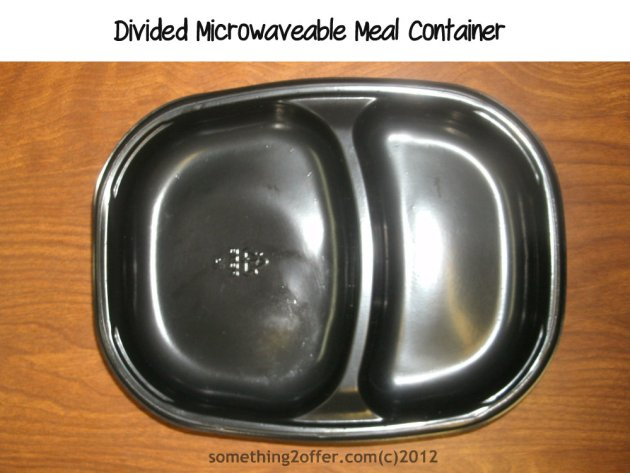 microwaveable meal container