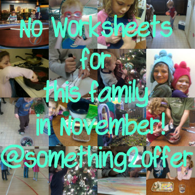 no worksheets for this family in november @something2offer