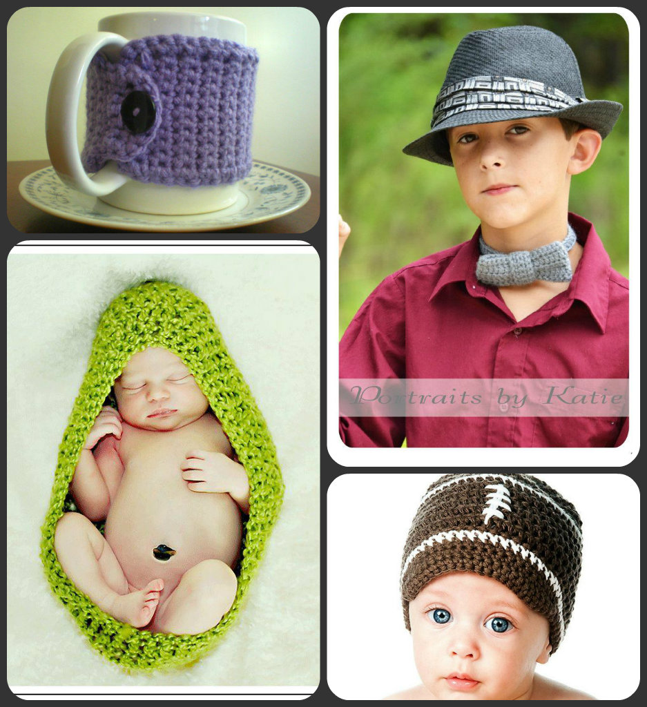 hookin the legal way  crochet hats baby bunting bowtie mug cozy