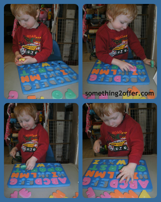 Foam ABC puzzle
