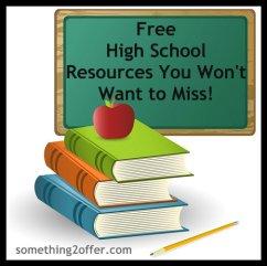 free high school resources